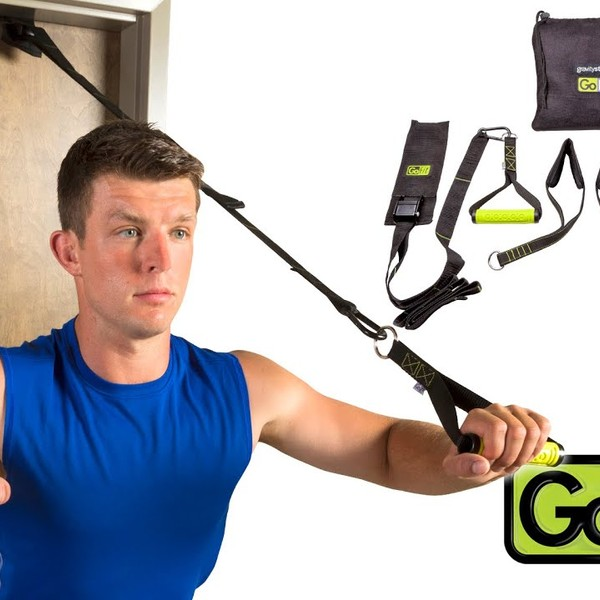 GoFit Gravity Straps - Components & Exercises