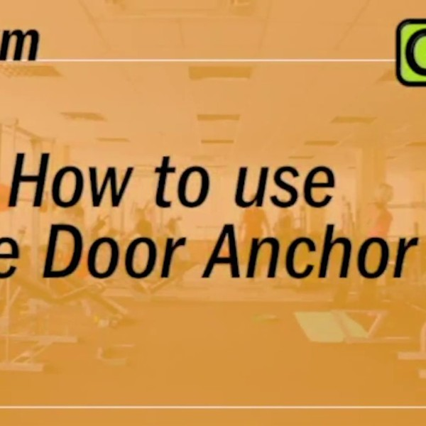 How To Install GoFit Door Anchor