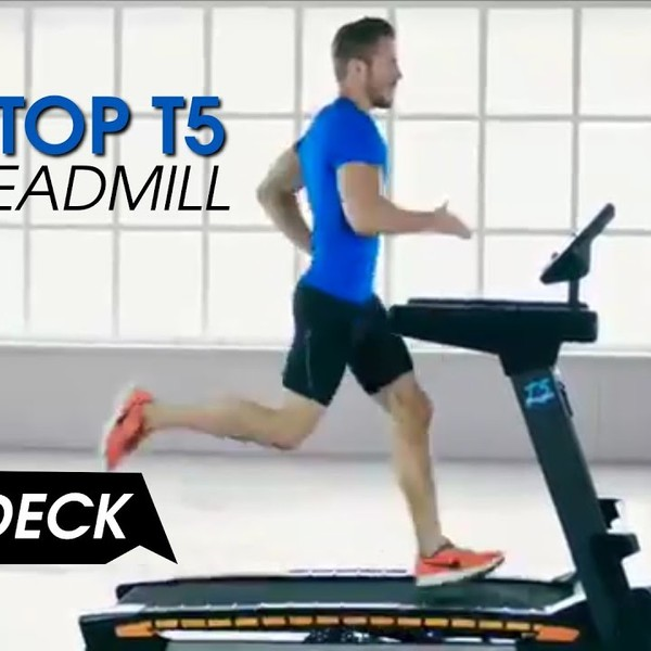 Sportop T5 wave deck treadmill Dynamo Fitness Equipment